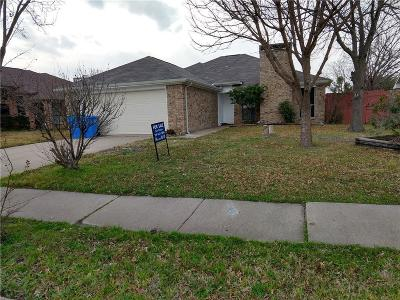 Rowlett Single Family Home Active Option Contract: 3210 Hillcrest Drive