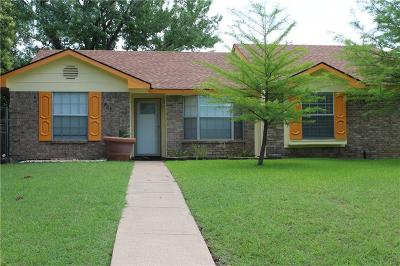 Seagoville Single Family Home For Sale: 1306 Ross Lane