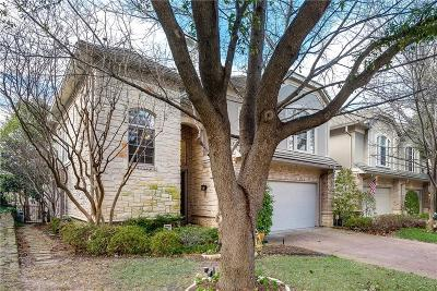 Irving Townhouse For Sale: 4321 Castle Rock Court