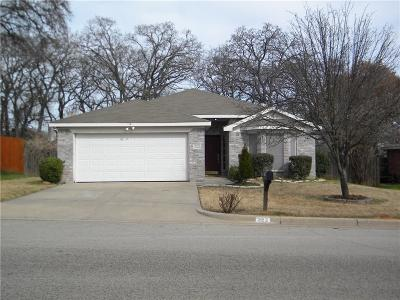 Weatherford Single Family Home For Sale: 322 Sweetwater Drive