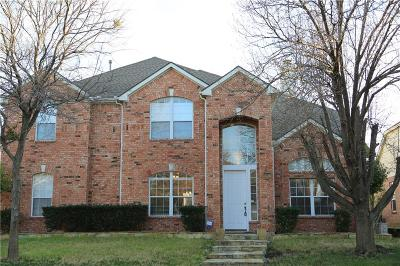 Plano Single Family Home Active Option Contract: 3424 Spring Mountain Drive