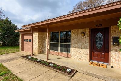 Duncanville Single Family Home Active Option Contract: 519 Kelly Court