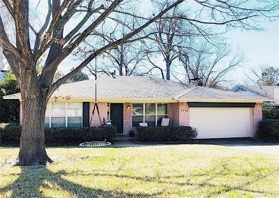 Dallas Single Family Home For Sale: 1714 Kiltartan Drive
