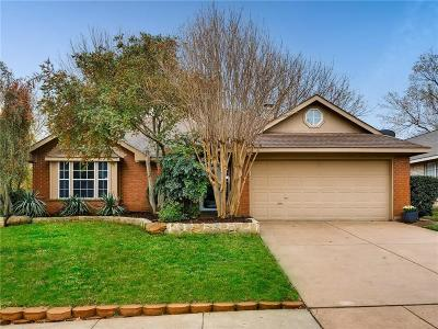 Euless Single Family Home Active Option Contract: 301 Canterbury Street