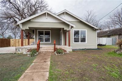 Dallas Single Family Home For Sale: 612 Avenue G