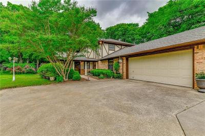 Double Oak Single Family Home For Sale: 150 S Woodland Trail