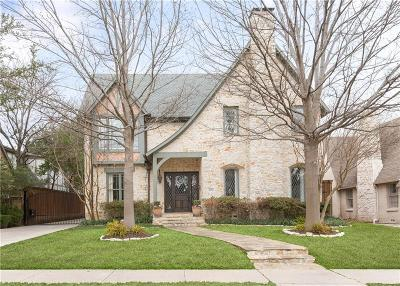 Highland Park Single Family Home For Sale: 4524 Edmondson Avenue