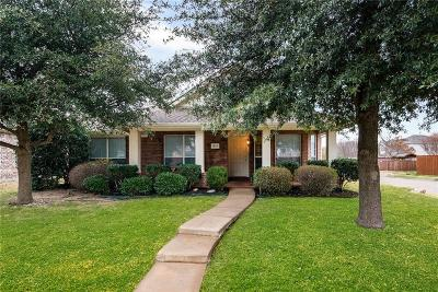 Allen Single Family Home Active Option Contract: 1527 Silver Spur Drive