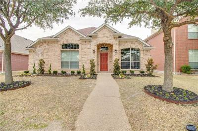 McKinney Single Family Home Active Option Contract: 9108 Clearview Drive