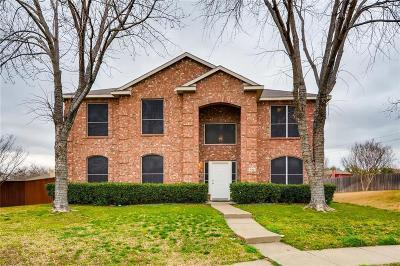 Mesquite Single Family Home For Sale: 702 Hugh Walker Drive