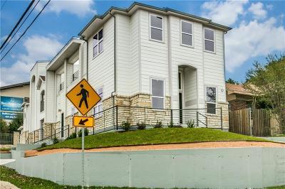Dallas Townhouse For Sale: 422 N Marlborough Avenue #A