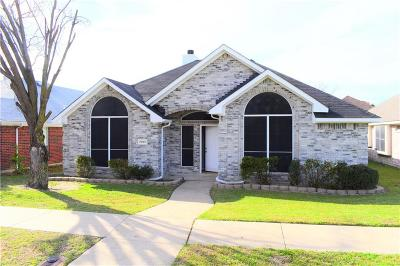 Rowlett Single Family Home Active Option Contract: 7009 Charleston Drive