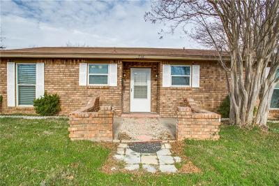 Burleson Single Family Home Active Option Contract: 736 Lynnewood Avenue