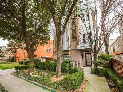 Dallas County Townhouse For Sale: 4023 Gilbert Avenue