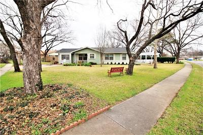 Burleson Single Family Home Active Option Contract: 108 SW Murphy Road