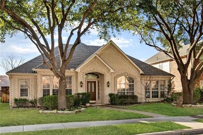 Plano Single Family Home Active Option Contract: 8413 Wareham Drive