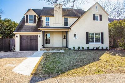 Dallas County Single Family Home For Sale: 3207 Mockingbird Lane