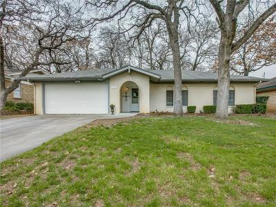 North Richland Hills Single Family Home Active Option Contract: 7713 Noneman Drive