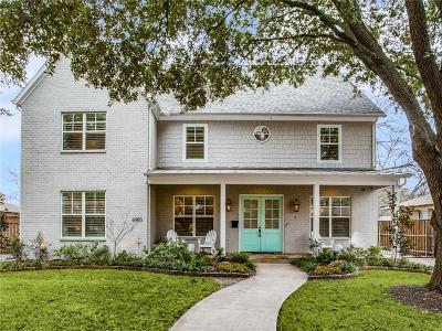 Dallas County Single Family Home For Sale: 6950 Santa Maria Lane