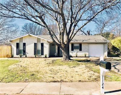 Cedar Hill Single Family Home For Sale: 1124 Saturn Drive