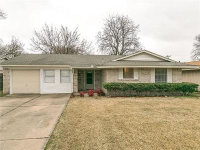 Mesquite Single Family Home Active Option Contract: 1813 Summit Street