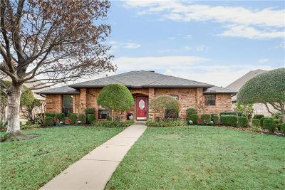 Mesquite Single Family Home Active Option Contract: 1212 Gonzales Drive