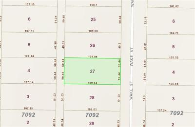 Dallas County Residential Lots & Land For Sale: 3215 Wake Street