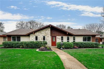 Irving Single Family Home Active Option Contract: 2012 Onetta Drive