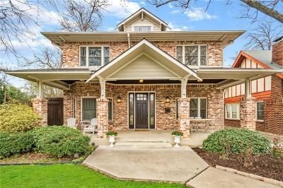 Dallas County Single Family Home Active Option Contract: 5727 Belmont Avenue