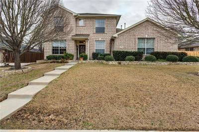 Forney Single Family Home For Sale: 1112 Manassas Drive