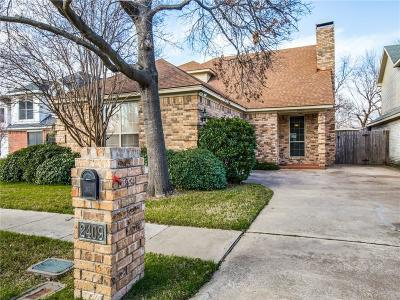 Irving Single Family Home For Sale: 2409 Park Crest Court