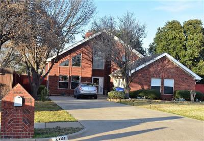 Carrollton Single Family Home For Sale: 2101 Yewpon Court