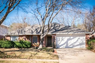 Fort Worth Single Family Home For Sale: 3208 Steamboat Drive