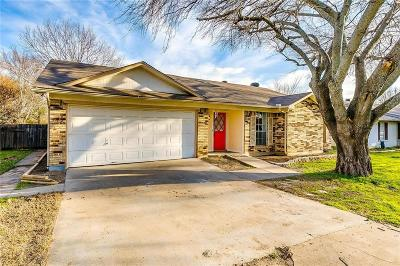 Benbrook Single Family Home Active Option Contract: 1508 Timberline Drive