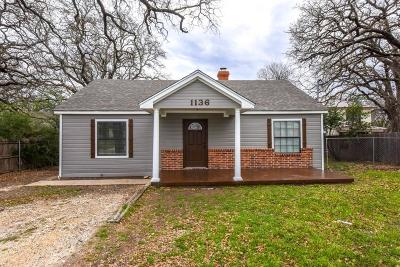 Stephenville Single Family Home Active Option Contract: 1136 W Long Street