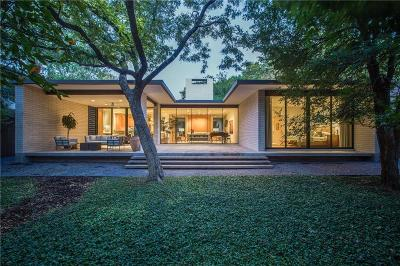 Dallas Single Family Home For Sale: 4603 Bluffview Boulevard