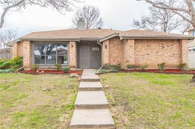 Carrollton Single Family Home Active Option Contract: 2034 Rochelle Lane
