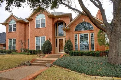 Irving Single Family Home Active Option Contract: 2201 Clearspring Drive S