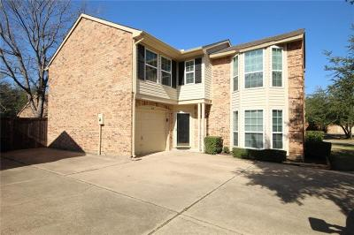 Irving Single Family Home Active Option Contract: 312 Stoneledge