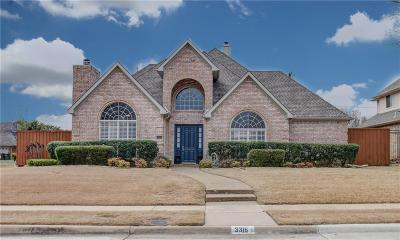 Plano Single Family Home For Sale: 3316 Sage Brush Trail