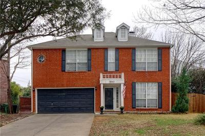 Grapevine Single Family Home Active Option Contract: 1540 Dublin Circle