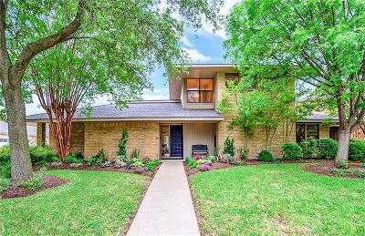Richardson Single Family Home Active Contingent: 2701 Sherrill Park Drive