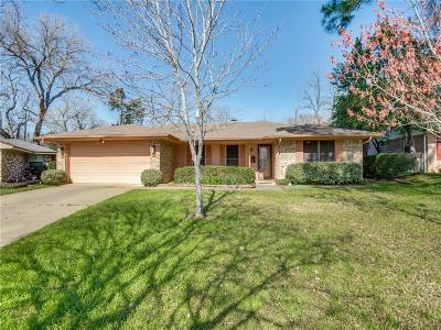 Irving Single Family Home Active Contingent: 1905 Pickwick Circle