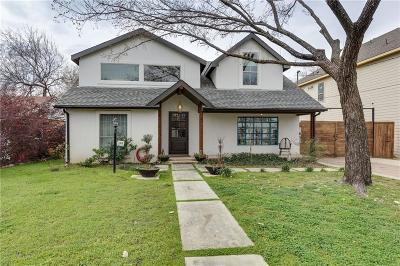 Irving Single Family Home For Sale: 1103 Anita Street