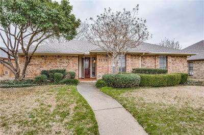 Carrollton Single Family Home Active Contingent: 2532 Dove Creek Lane