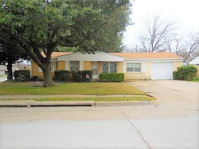 Mesquite Single Family Home For Sale: 4703 Bedford Drive