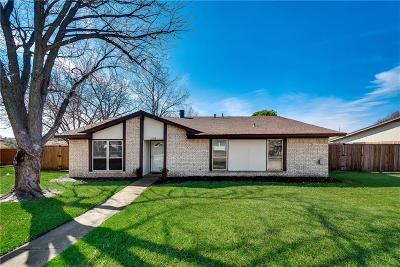 Garland Single Family Home For Sale: 3318 Latham Drive