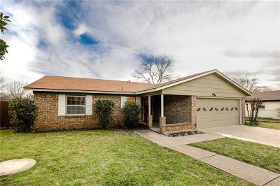Parker County Single Family Home Active Option Contract: 1105 Julie Street