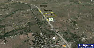 Angus, Barry, Blooming Grove, Chatfield, Corsicana, Dawson, Emhouse, Eureka, Frost, Hubbard, Kerens, Mildred, Navarro, No City, Powell, Purdon, Rice, Richland, Streetman, Wortham Commercial Lots & Land For Sale: 40 Ac Interstate 45 Highway