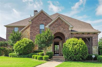 Lewisville Single Family Home Active Contingent: 2400 Hardrock Castle Drive